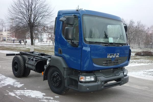 Новое среднетоннажное  шасси КрАЗ-5401Н2
