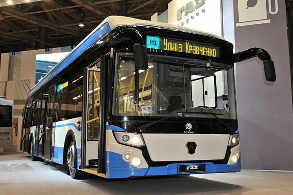 Группа ГАЗ представила электробус нового поколения