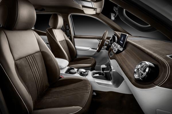 Новый пикап Mercedes-Benz Concept X-CLASS