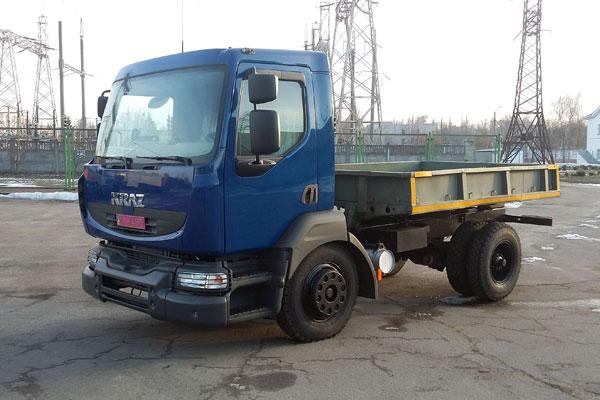 Среднетоннажник КрАЗ-5401Н2  завершил заводские испытания