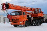 Модернизированные краны на базе КАМАЗ