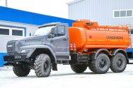 Автотопливозаправщик «Урал NEXT» для нефтегазовой отрасли