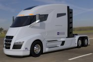 Nikola One Electric Semi-Truck начало экологических грузоперевозок