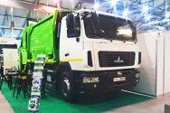 Новый мусоровоз на шасси МАЗ от GeesinkNorba