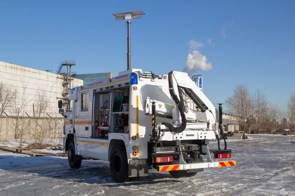 Инновационный грузовик на базе КАМАЗ