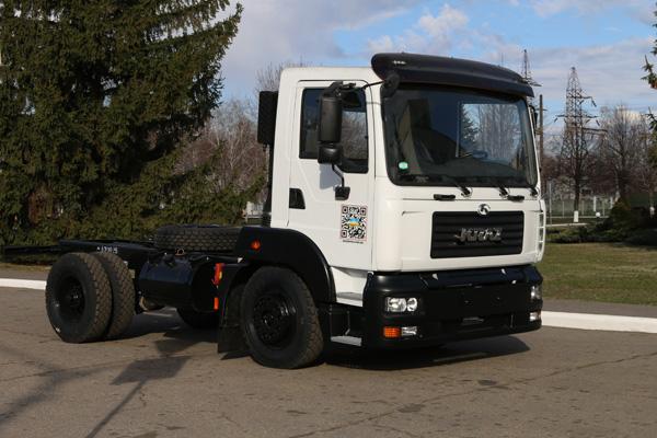 Новый КрАЗ-4501 – еще легче, меньше и маневреннее