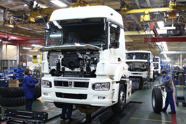Выход КАМАЗ-5490 NEO в серийное производство
