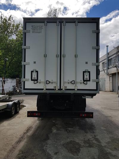 Новинка - тушевоз на шасси КамАЗ 65117 с ХОУ Zanotti UNO 80