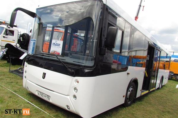 Новинка - перонный автобус НЕФАЗ