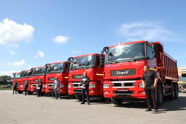 20 новых самосвалов КАМАЗ-6520 для «АФОР-ЛЕС»