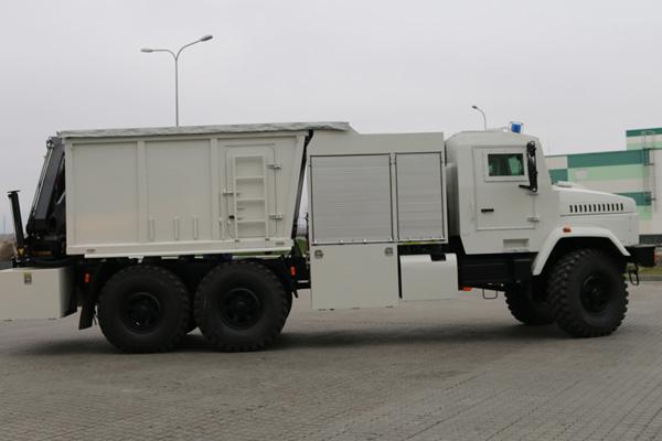 Новый розминировщик КрАЗ - бронированный и более функциональный