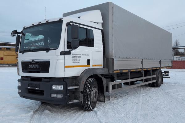 Новый MAN TGM с европлатформой от предприятия РусАвтоГид