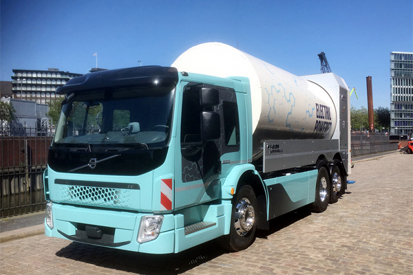 Volvo FE Electric – второй грузовик в линейке электромобилей Volvo