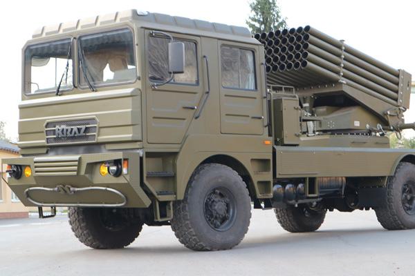 БМ-21 УМ «Берест»  - новая боевая машина на базе КрАЗа