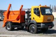 Новый портальный газодизельный мусоровоз КРАЗ