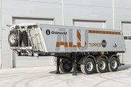 Первый алюминиевый самосвальный полуприцеп Grunwald