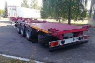 Новый полуприцеп-контейнеровоз от «НЕФАЗа»
