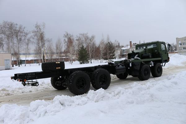 Самоходное шасси КрАЗ 8х8 с АКПП