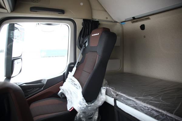 На КАМАЗе собрали первый тягач КАМАЗ-54901 с кабиной К5