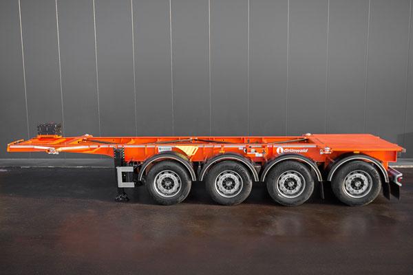 Контейнеровозы для тяжелых 20Ft контейнеров
