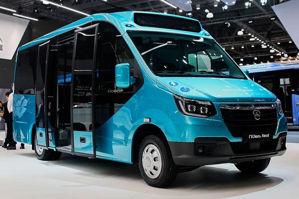 «ГАЗель NEXT»  низким полом и широкой площадкой для пассажиров