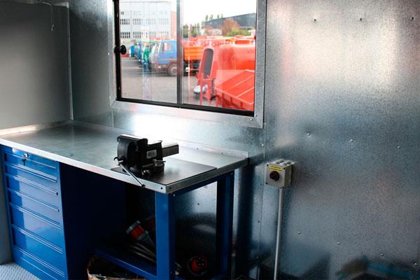 Мощные автомастерские ACAM-78 на базе шасси КрАЗ