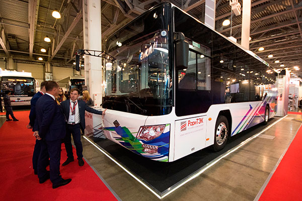 Первый российский СПГ автобус комплектуется АКП Allison