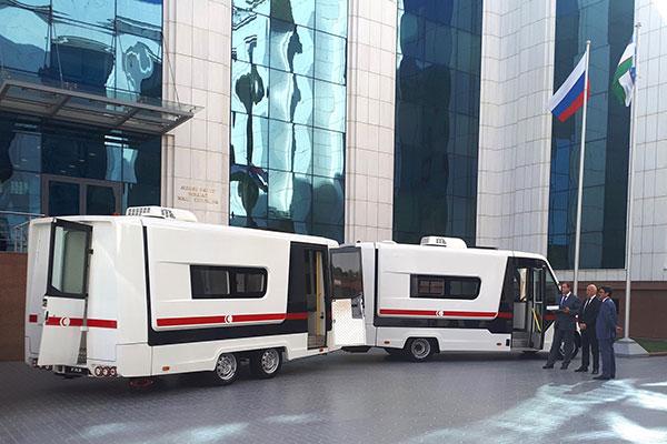 Медицинский комплекс «ГАЗель NEXT» для Узбекистана