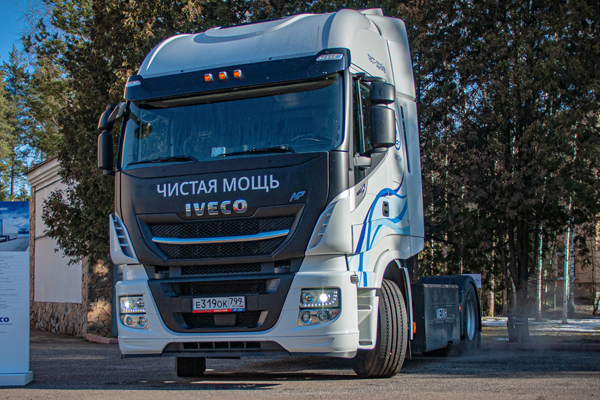 Газомоторные решения IVECO  на Грузовой икоммерческий транспорт 2020
