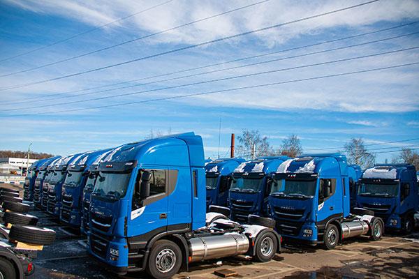 50 новых IVECO Stralis NP 460 для Мостранс