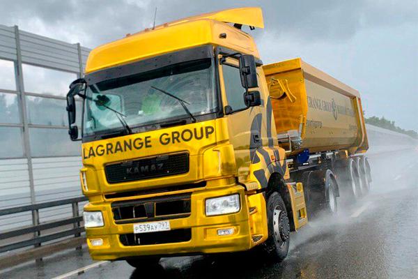 КАМАЗы для Lagrange Group