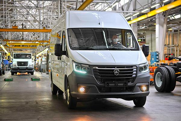 ГАЗ представил образцы электромобиля GAZelle e-NN