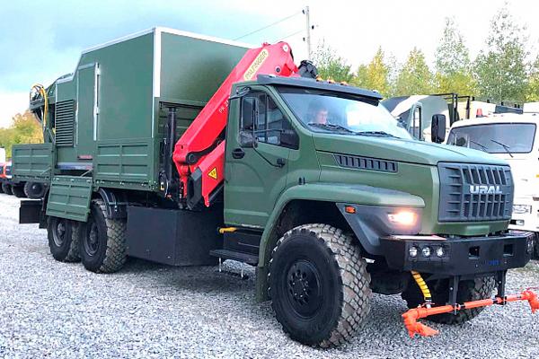 Многофункциональный специальный санитарный автомобиль Урал NEXT