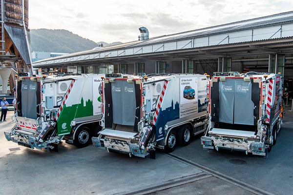 Гибридные мусоровозы с АКП Allison - плавность, экономичность и надёжность