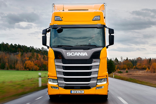 Scania 540 S признана лучшей крупнейшими европейскими изданиями