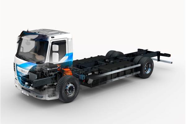 DAF LF electric для городских перевозок с нулевым уровнем выбросов