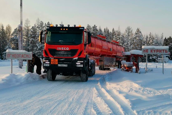 Iveco-AMT Trakker. Уральский зверь, который не боится ни холодов, ни бездорожья