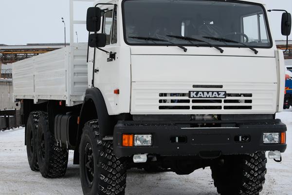 КАМАЗ-43118 – самый продаваемый грузовик в России