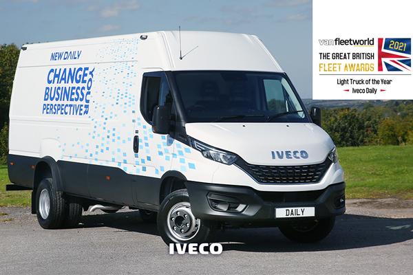 IVECO Daily завоевывает титул Light Truck of the Year в британской премии Van Fleet World Awards 2021 года