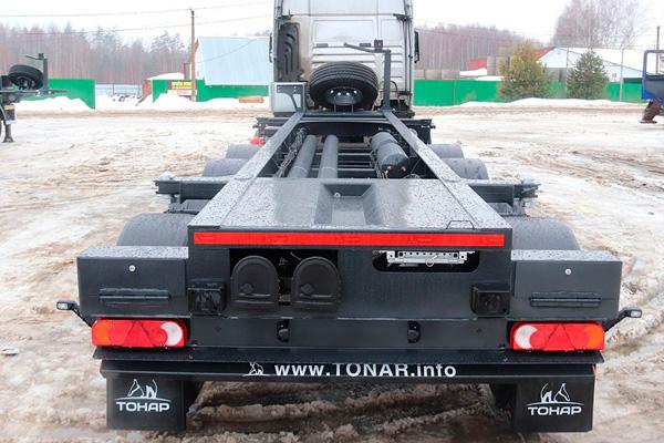 Полуприцеп-контейнеровоз Тонар К4-20 для опасных грузов