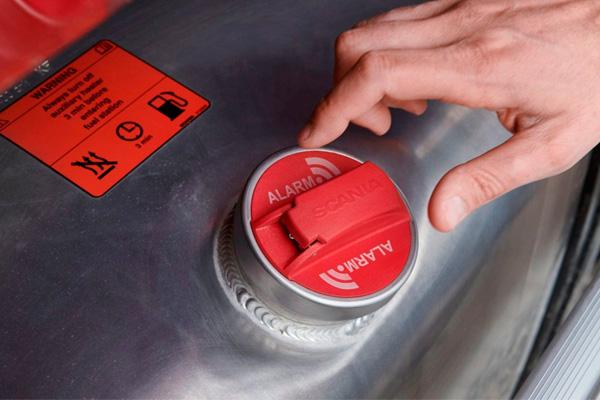 Fuel Theft Alarm - новый замок с сигнализацией для Scania