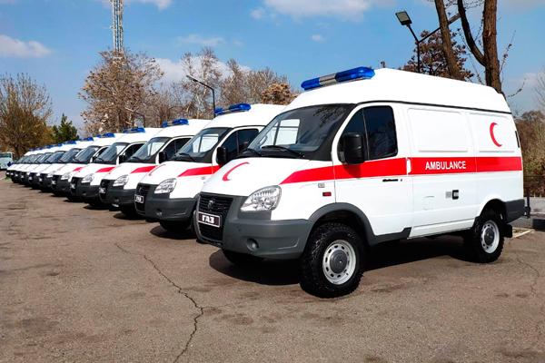 Скорые помощи на базе ГАЗ для Узбекистана