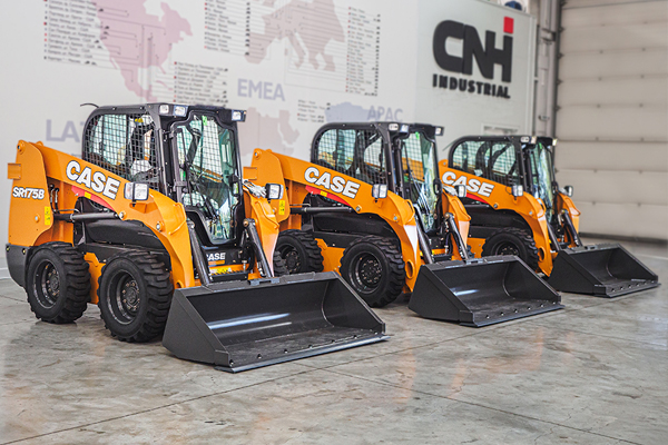 Выпуск мини-техники New Holland и CASE Construction на заводе CNH Industrial