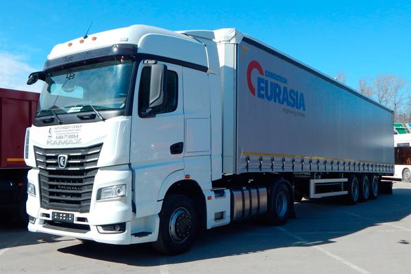 Новый полуприцеп ТЗА Eurasia Cargotech