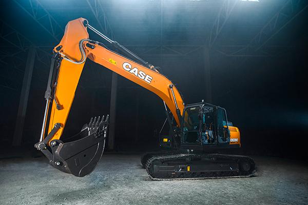 Новый экскаватор CASE CX220C LC-HD