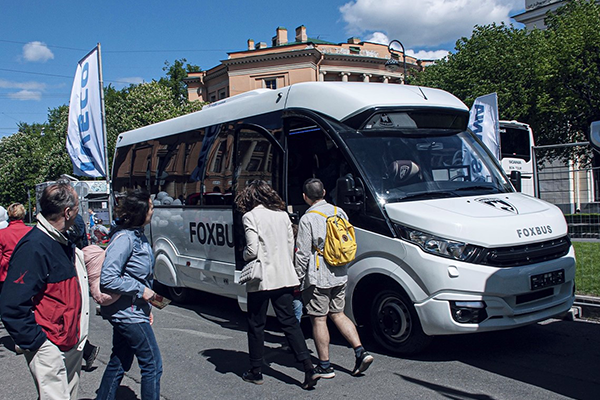 Новинки IVECO на II Международном фестивале SpbTransportFest