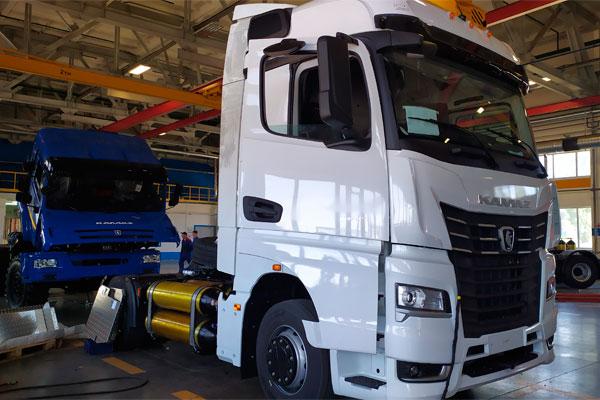 КАМАЗ-54901 в газодизельном исполнении