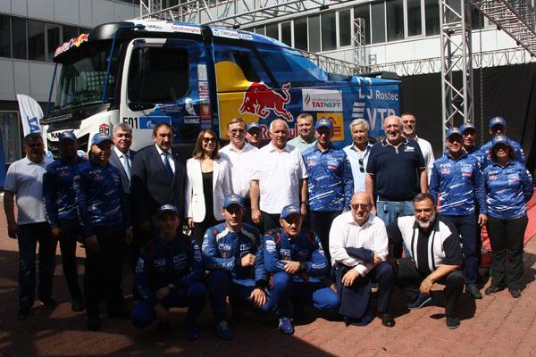 КАМАЗ-мастер показал спортивный грузовик поколения К5
