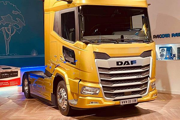 Новый DAF XG на презентации салона для дилеров
