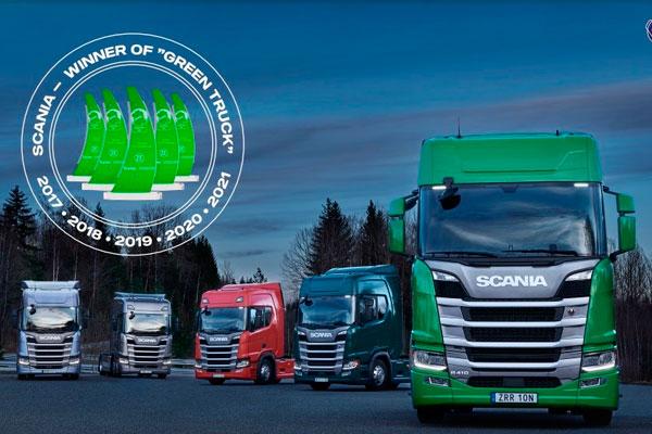 23,53 литра на 100 км - тягачи Scania пятый раз подряд признаны самыми экономичными и экологичными грузовиками